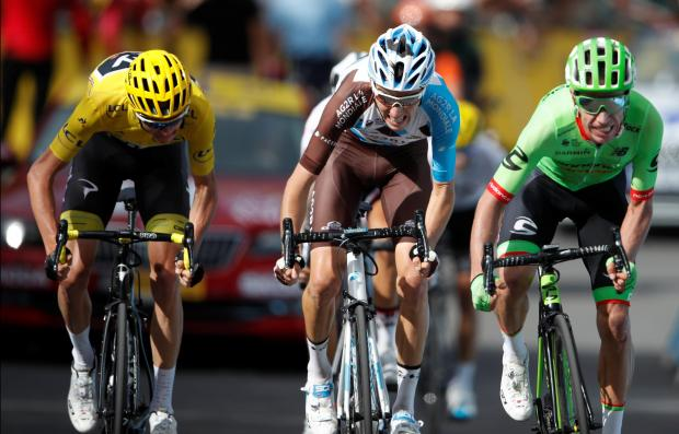Tour de France: Froome extends his lead in yellow jersey