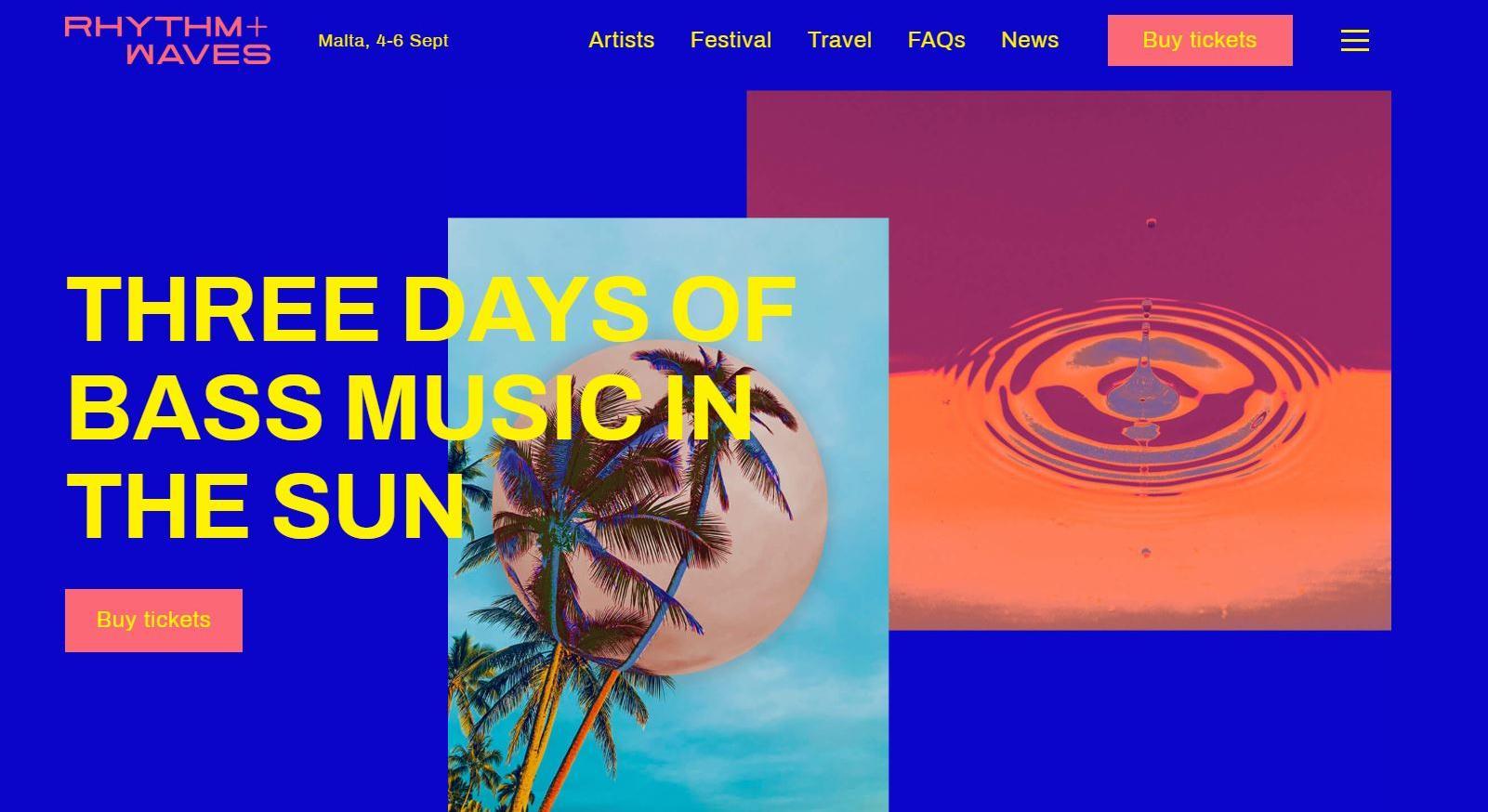 Rhythm and Waves festival.