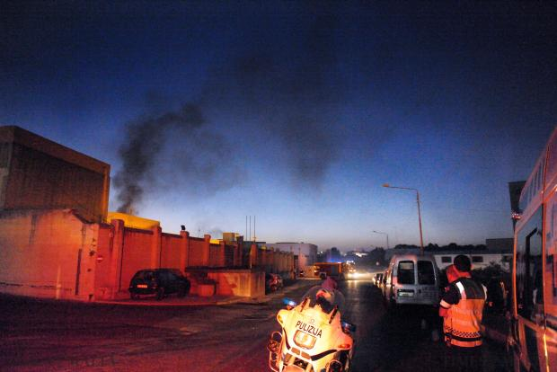 An explosion that knocked out the Marsa Distribution Centre following a cable fault led to a nationwide power outage on August 12. Photo: Jason Borg