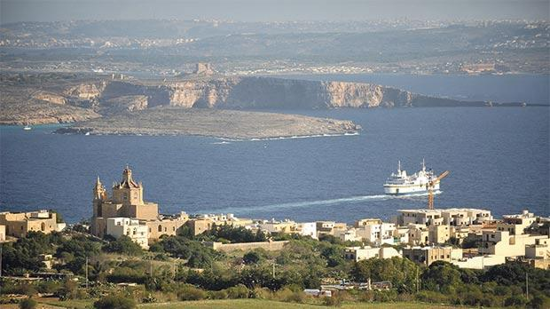 A tunnel from Ċirkewwa might be a start. But it needs to go south, underground, not north, under water. Photo: Chris Sant Fournier