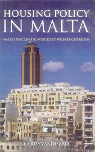 The front cover of Cyrus Vakili-Zad`s book features a picture of St Julians from Spinola and the sociologist says the image represents the perfect picture of the housing policy in Malta: lack of planning and the influence of interest groups.