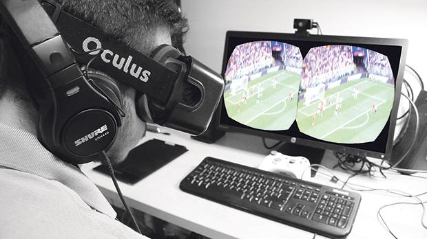 How will stadium and home fans experience Qatar's World Cup 2022 with augmented/virtual reality technology?