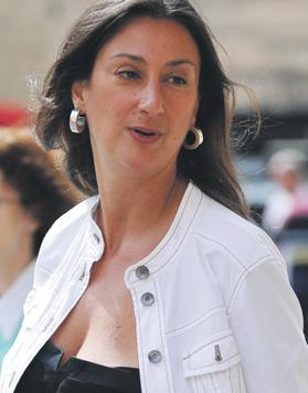 Daphne Caruana Galizia said a top police officer gave her a tip-off.
