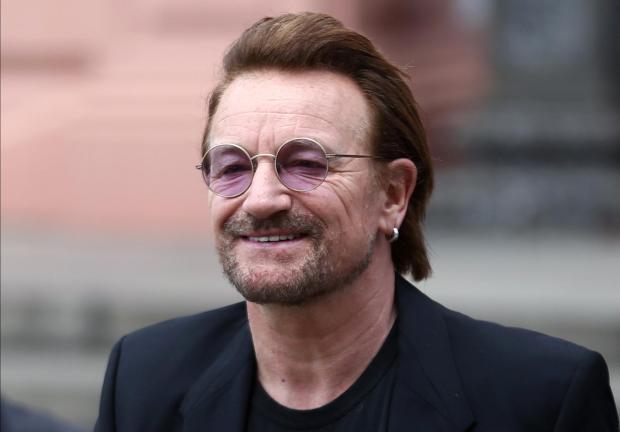 Bono, lead singer of U2.