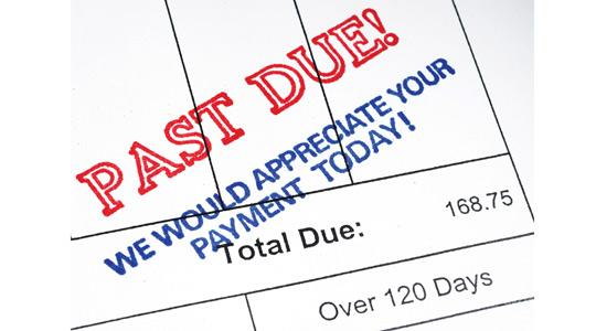 Late payment is a huge problem in Malta especially when it comes to the government paying the private sector.