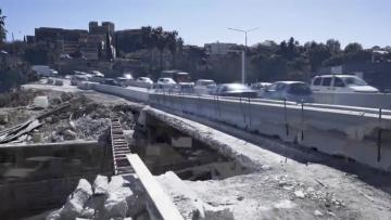 Watch: Part of Msida Valley Road bridge removed to make way for a wider one
