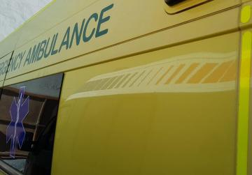 Man injured in fall from balcony