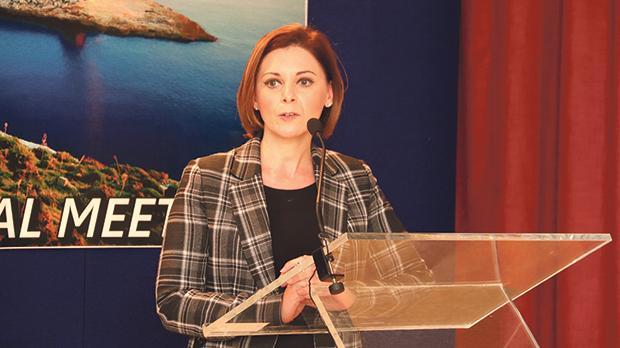 Gozo Minister Justyne Caruana.