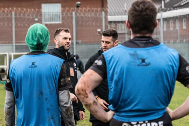 Saracens use rugby to tackle problem of prisoner re-offending