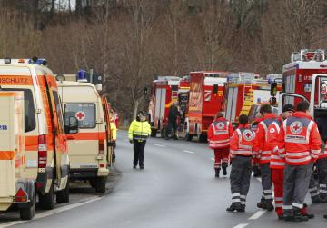 Four dead, many injured in German train crash