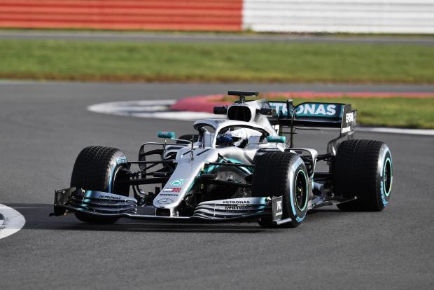 Mercedes paraded their new 2019 F1 car at Silverstone on Wednesday.