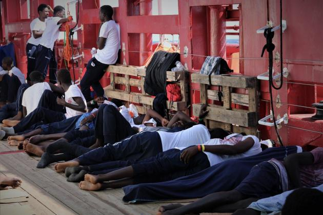 Tribunal allows rescue ship into Italian waters, despite Salvini ban