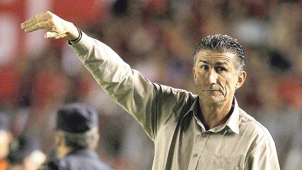 New Argentina national team coach Edgardo Bauza.