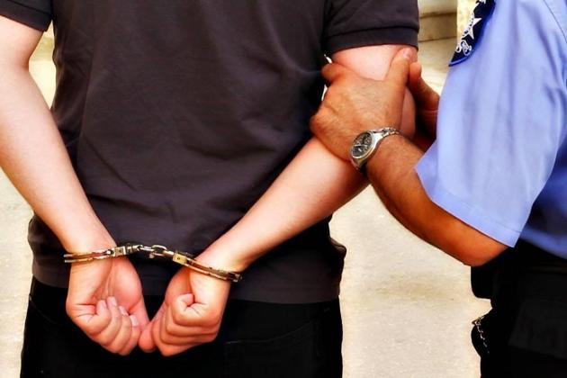 Man arrested after hotel theft