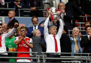 Arsenal win English FA Cup after beating Chelsea in thriller