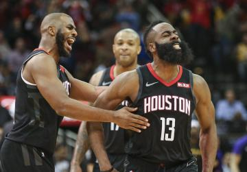 Watch: NBA roundup: Harden produces 50-point triple-double