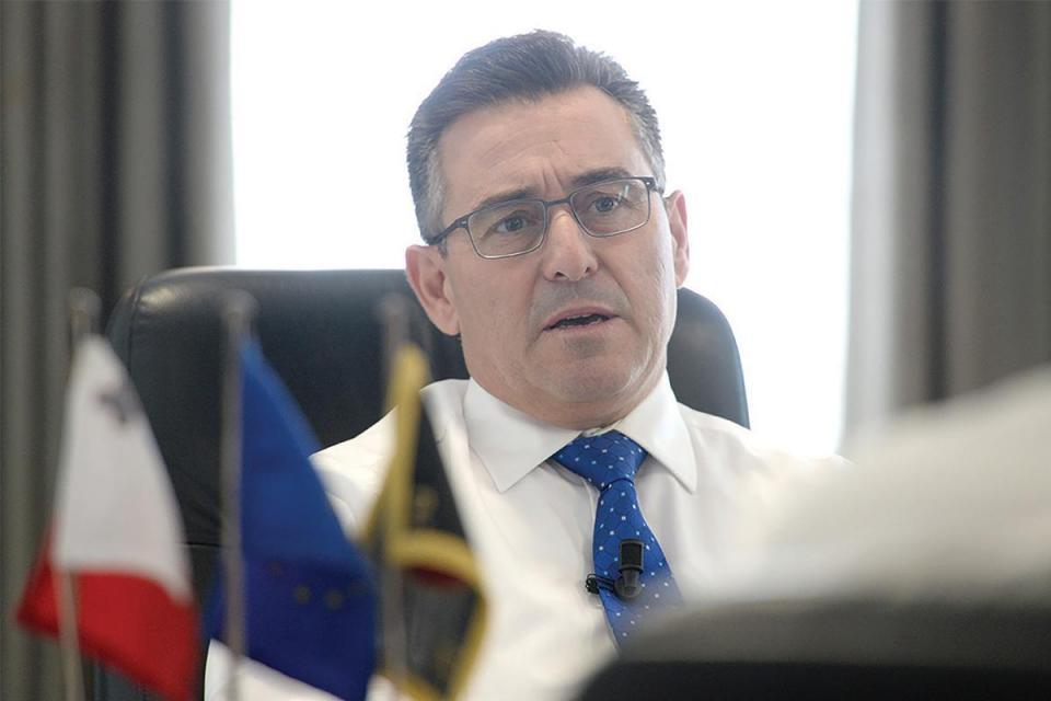 PN leader Bernard Grech.