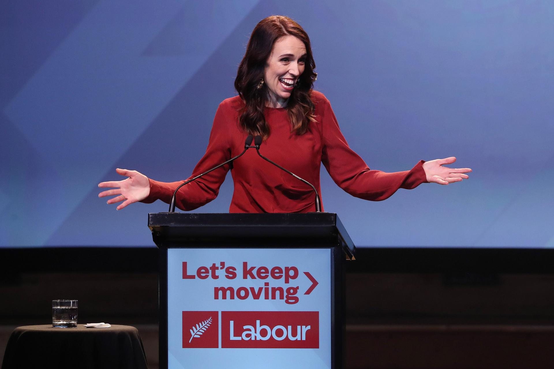 New Zealand Prime Minister Jacinda Ardern: the country was the first in the world to actively look beyond GDP when setting its national budget. Photo: AFP