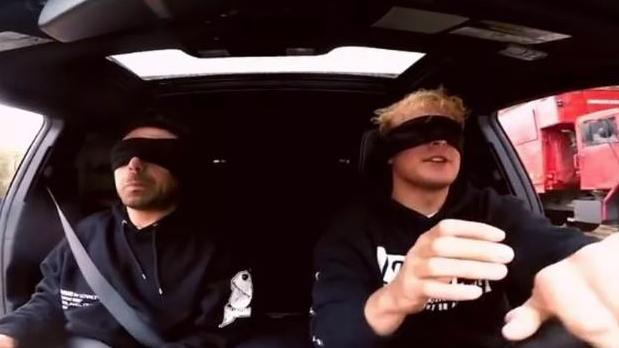 Videos of stunts like driving blindfolded have prompted YouTube to act.