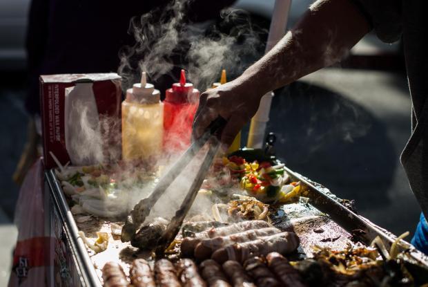 There are an estimated 50,000 street vendors in LA.