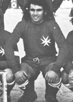 Vincent Magro - a key player for Valletta in the 70s.