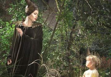The actress' daughter Vivienne Jolie-Pitt, who plays Aurora as a toddler.