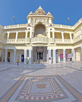 Gandhi's family home, Kirti Mandir, is a national monument. Photo: tantrik71/Shutterstock.com