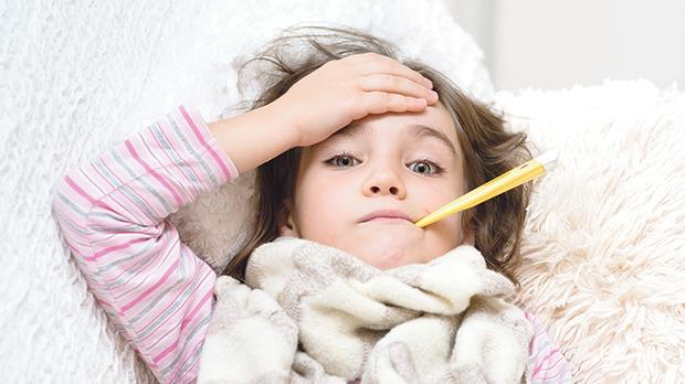 A child should rest at home until their temperature is normal (98.6°F  or 37°C).  This usually takes three to four days.