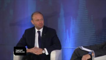 Watch: Malta metro 'only feasible in Sliema, unless we grow' - Muscat  | The Prime Minister thought back to his first car when discussing Malta's economy. Video: Chris Sant Fournier