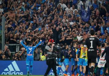 Napoli stun Juventus with late Koulibaly header