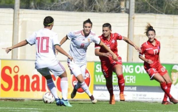 Malta will face Italy in the upcoming European championship qualifications. Photo: Domenica Aquilina/Malta FA