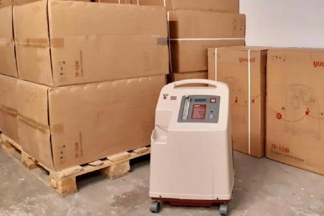 Malta donates 20 oxygen concentrators to virus-torn India