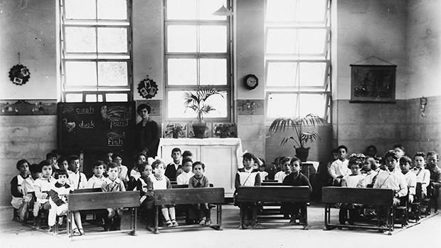 Floriana Primary School, 1927 . Photo: Michael Cassar