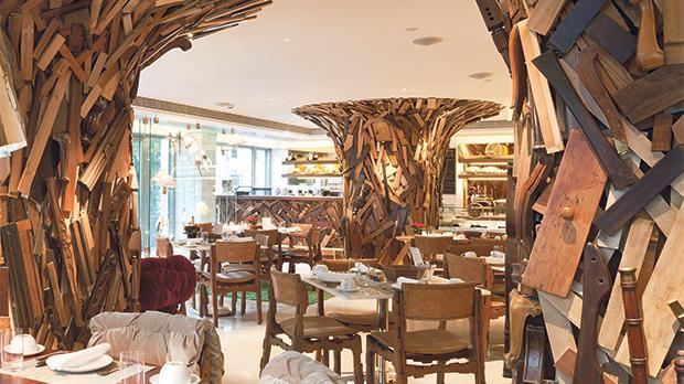 New Taste, New Hotel's favela-inspired restaurant.