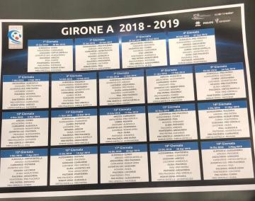 2018/2019 Serie C fixtures. Photo: TuttoJuve