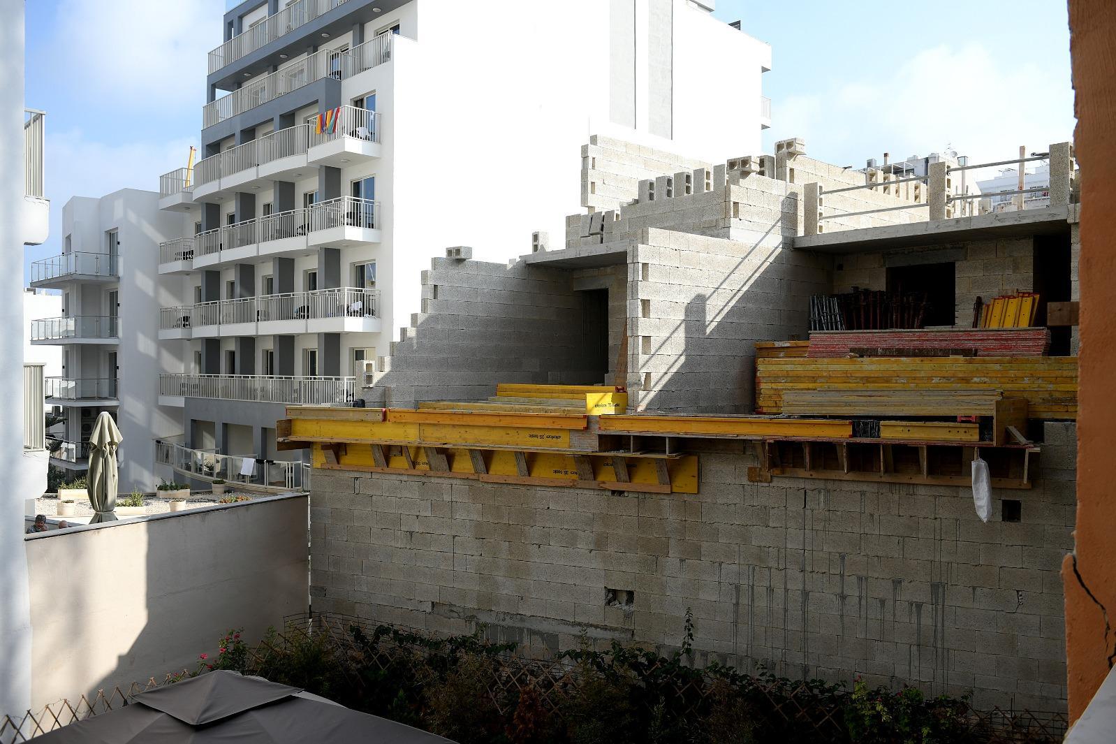 The construction site at Triq Dun Sciberras, Mellieha. Photo: Matthew Mirabelli