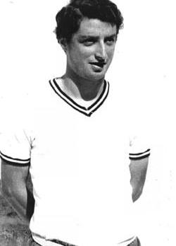 Norman Buckle in his playing days with Hibs.
