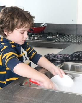 Allow your child to cook, wash dishes, and take care of plants and animals. These activities are extremely interesting for children because they can act as grown-ups.