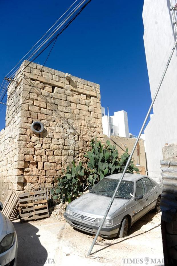 A World War II pillbox in San Gwann will soon bite the dust as the Superintendence for Cultural Heritage found no objection to give the green light for it to be demolished and replaced by a block of apartments on August 29. Photo: Steve Zammit Lupi