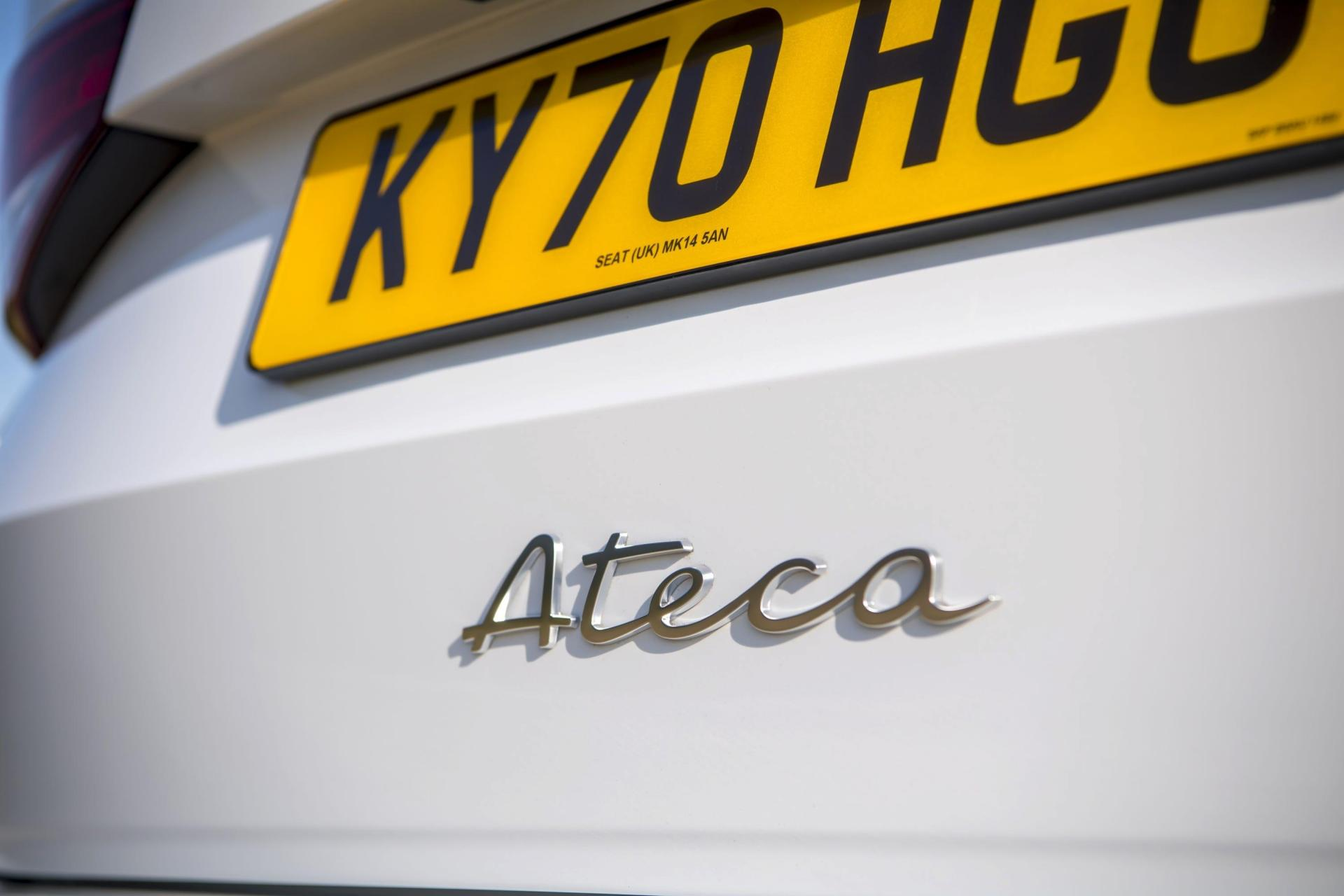 New handwriting-style badging has been used on the Ateca.