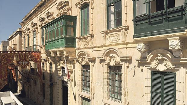 The property in Archbishop Street, Valletta. Photo: Chris Sant Fournier