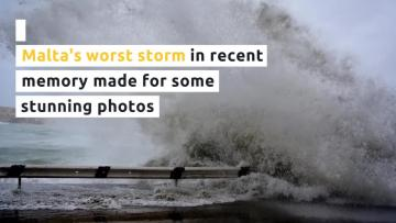 Hurricane-level gusts and more than half February's rain: the storm by numbers