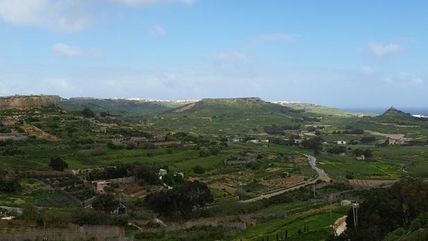 View from Xagħra, Gozo. Photo: Matthias Manicolo
