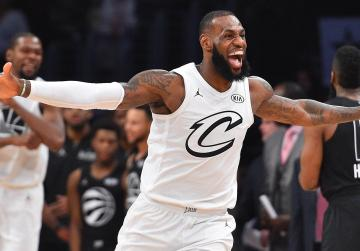 Watch: LeBron's MVP performance guides team to All-Star win