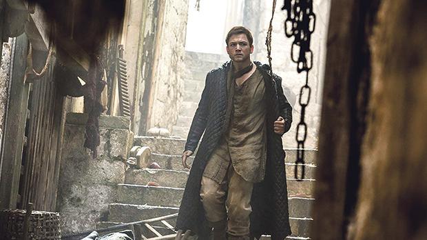 Taron Egerton in Robin Hood.