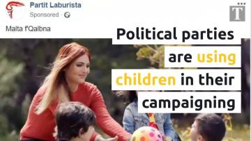 Babies and children should not be involved in political campaigns