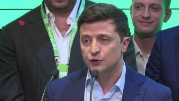Comedian Zelensky wins Ukraine presidency in landslide