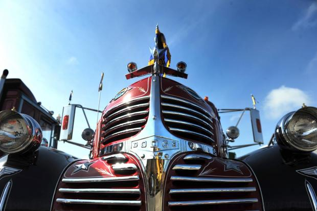 The majestic front of a classic commercial vehicle at the Malta Classic Commercial Vehicle Road Run on April 26. Photo: Jason Borg