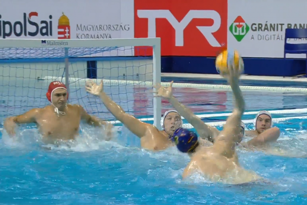 Spain too strong for Malta waterpolo in Euro opener