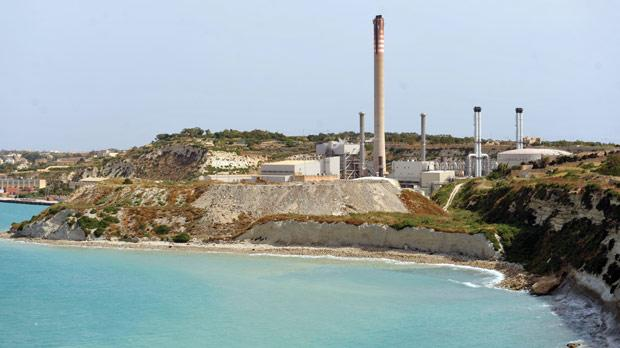 Delimara power station. Photo: Chris Sant Fournier
